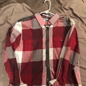 Express men's button up